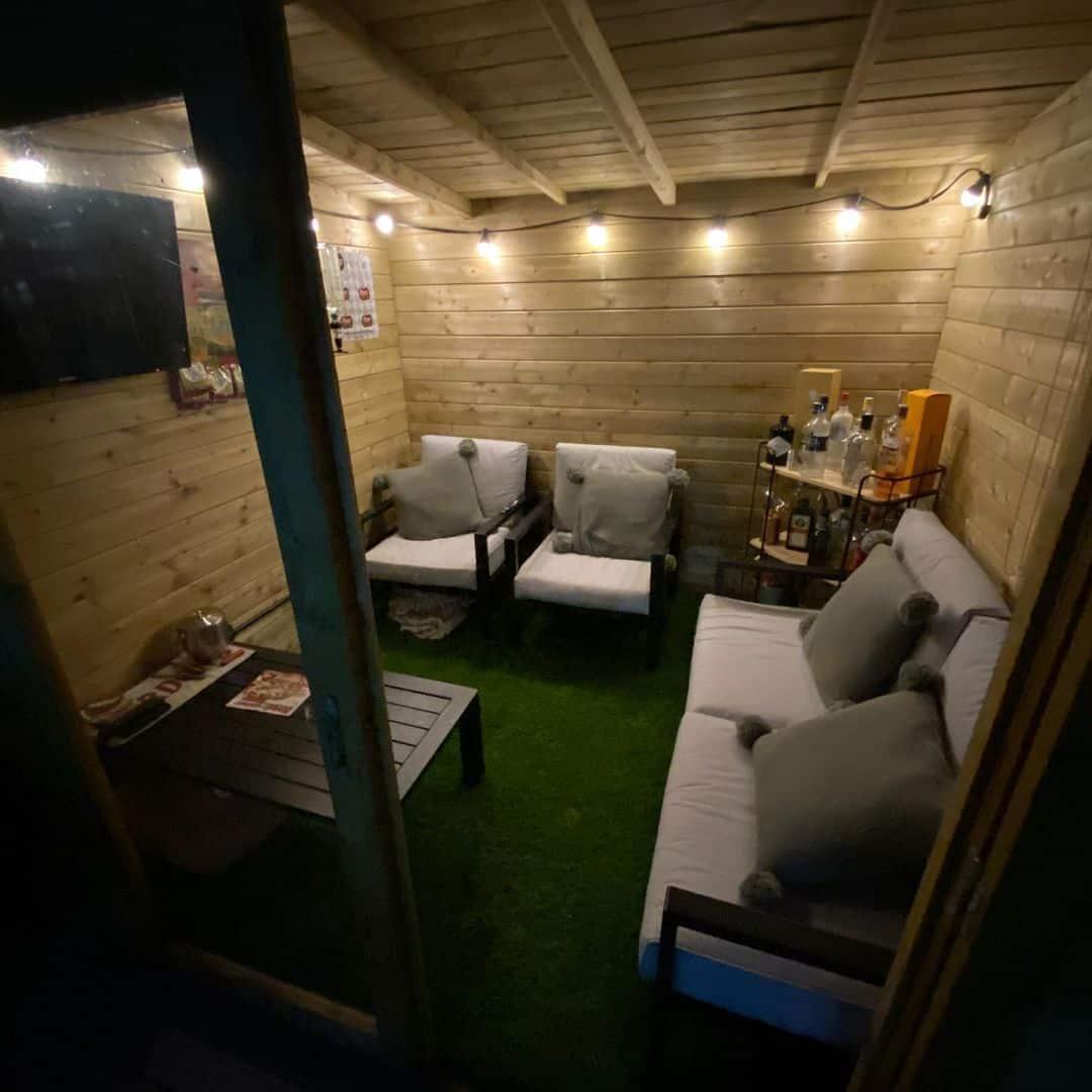 @no24home BillyOh Tianna Log cabin summerhouse