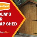 Customer Spotlight: Malcolm's Storer Overlap Shed