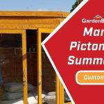 Customer Spotlight: Martyn's Picton Corner Summerhouse