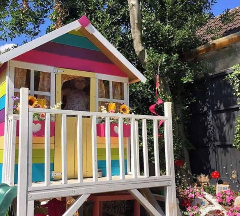 7-ideas-for-decorating-a-kids-playhouse-5-rainbow-themed-playhouse