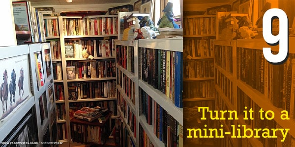 Turn it to a mini-library