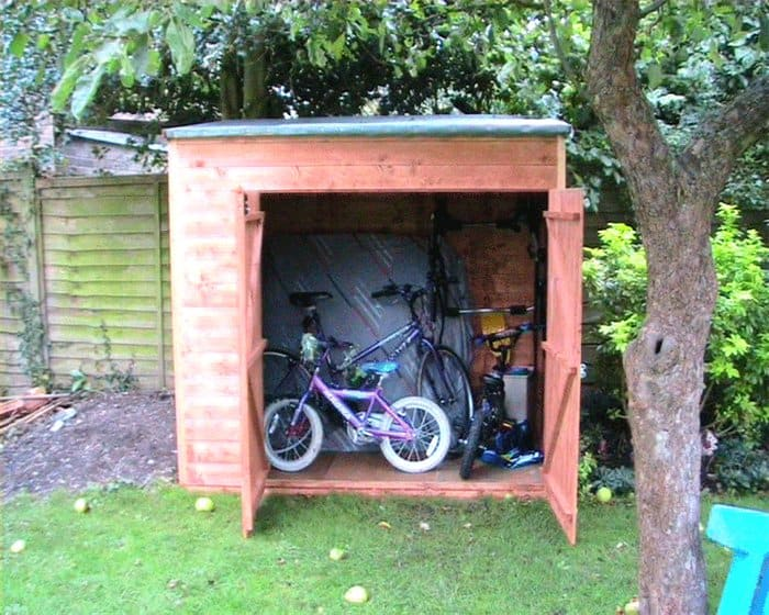Andy Willis - BillyOh Hyper Store Tongue and Groove Pent Garden Storage Unit Inc Floor