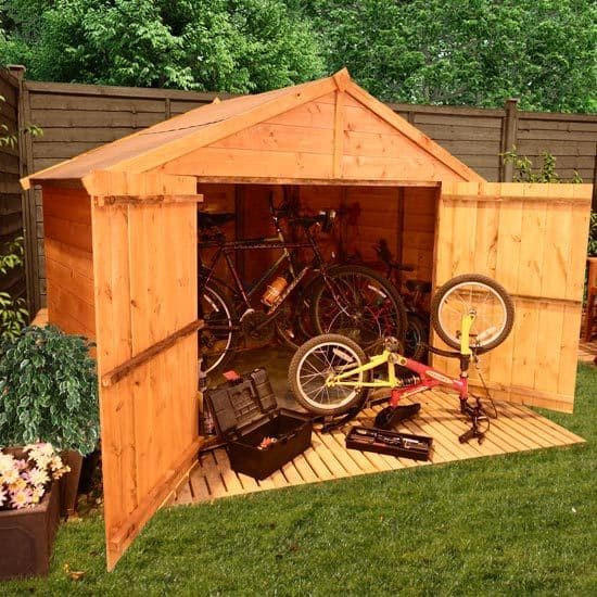 Making Your Bike Shed More Burglar-Proof