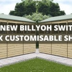 The NEW BillyOh Switch Apex Garden Shed