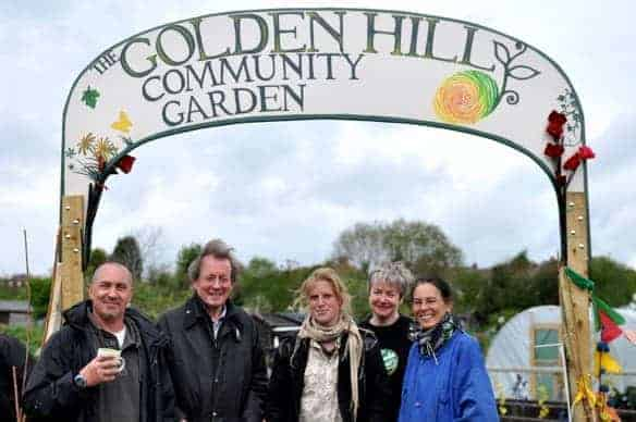 golden hill community garden