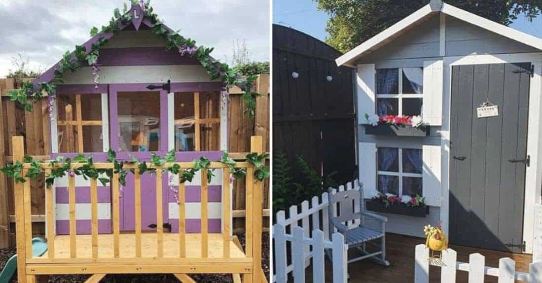 7 Top Ideas to Decorate a Kids Playhouse