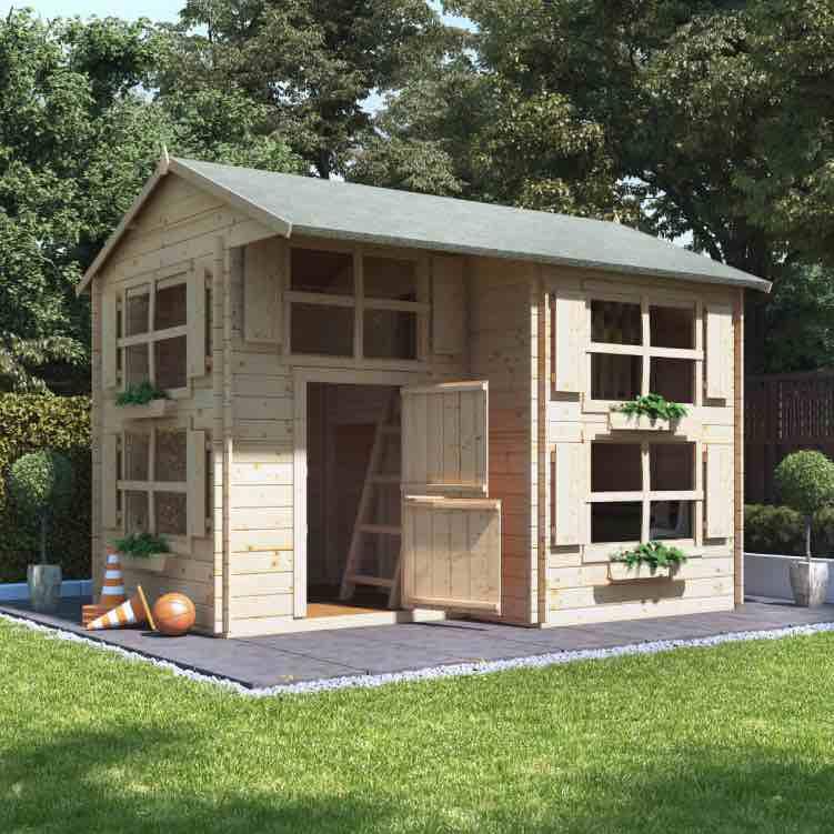 Playhouse guide - log cabin playhouses