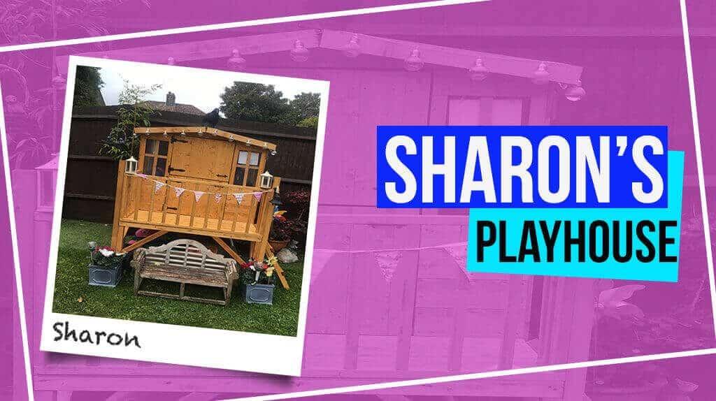 Sharon's Bunny Tower Playhouse