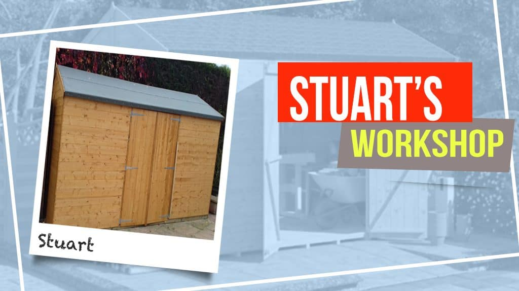 Stuart's BillyOh Expert Tongue and Groove Reverse Apex Workshop