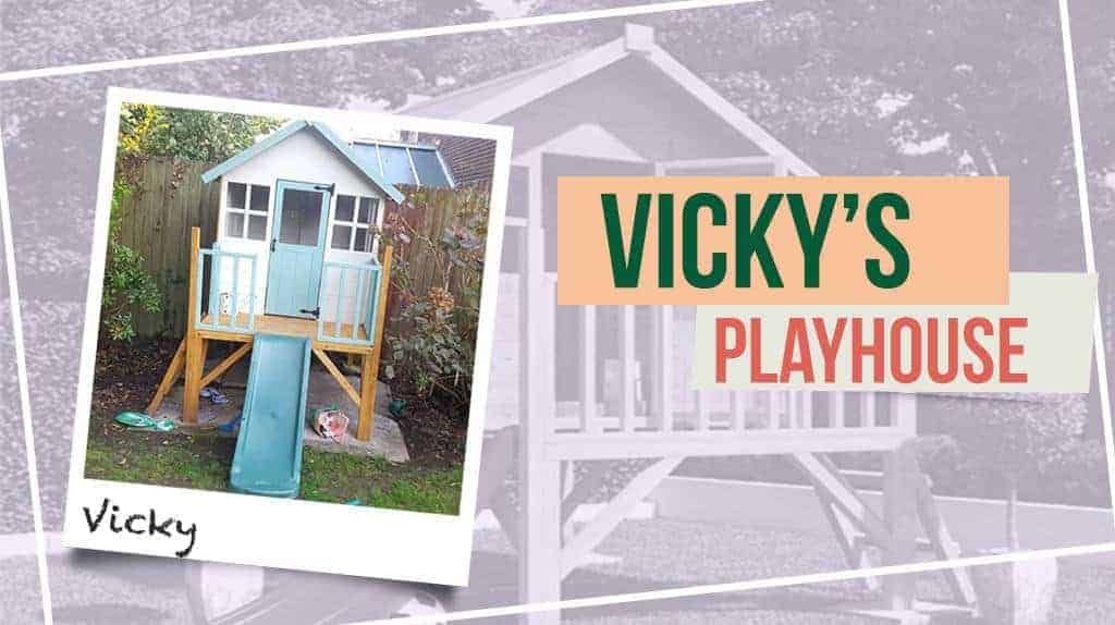 Vicki's Bunny Max Tower Playhouse