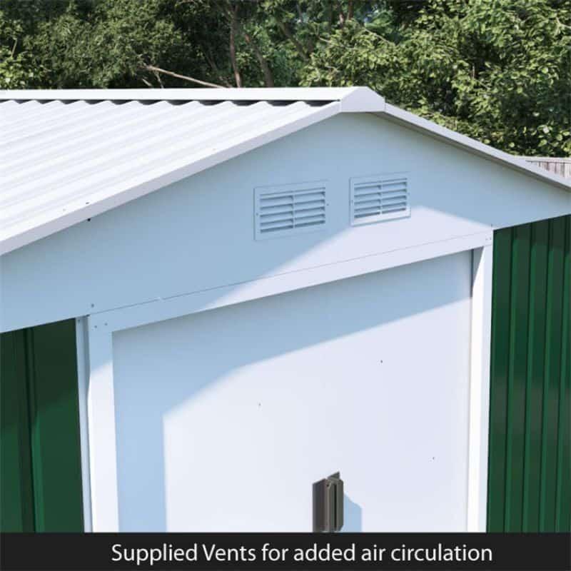 advantages-of-steel-sheds-5-built-in-ventilation
