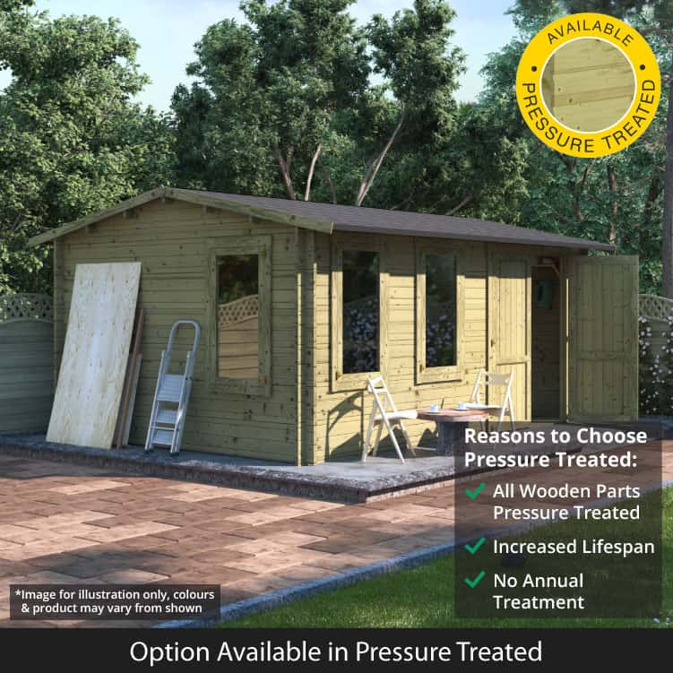 Discover the Amazing Benefits of Pressured Treated Sheds