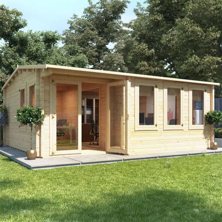 best-thickness-log-cabin-10-kent-home-office