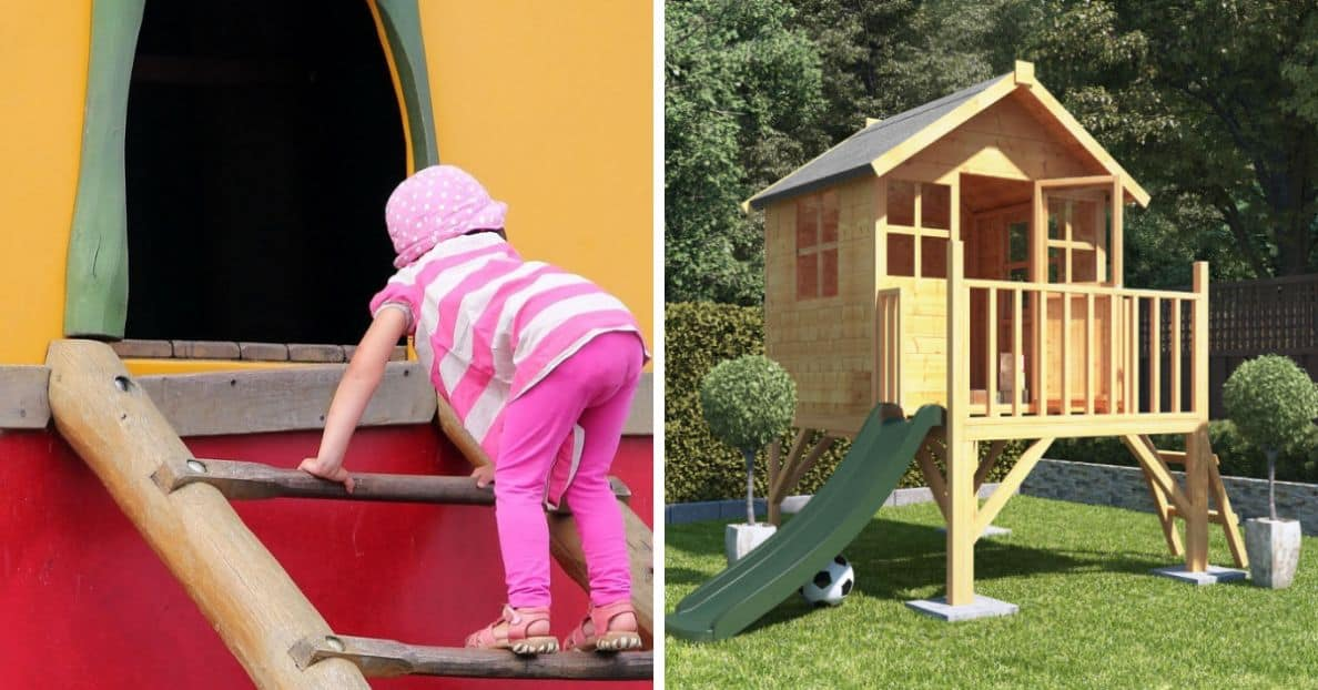 Here's Why You Should Build Your Kids An Outdoor Playhouse