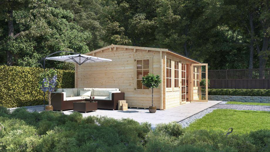 cottage-style-garden-8-log-cabin