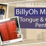 BILLYOH MASTER T&G PENT SHED: CUSTOMER STORIES