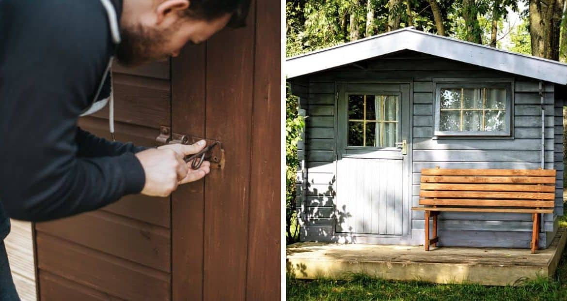 Eight Clever Tips to Secure Your Shed