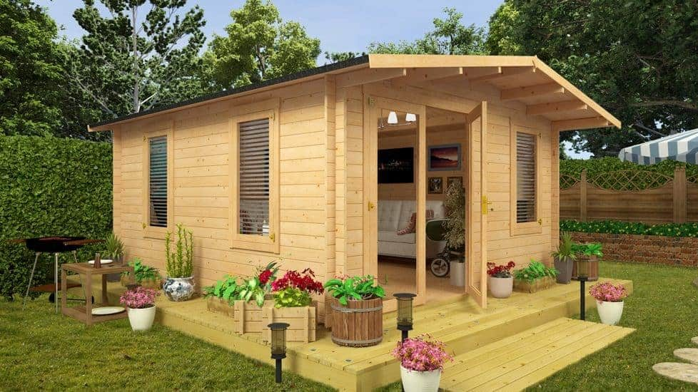 3 Reasons Why a Garden Shed Makes the Best Man-Cave