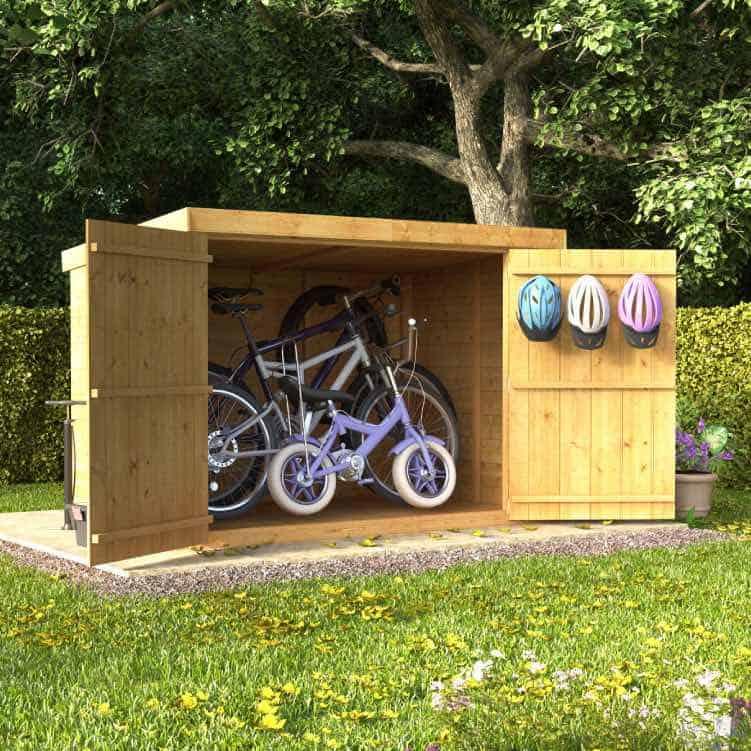 BillyOh Mini Master T&G Pent Bike Store