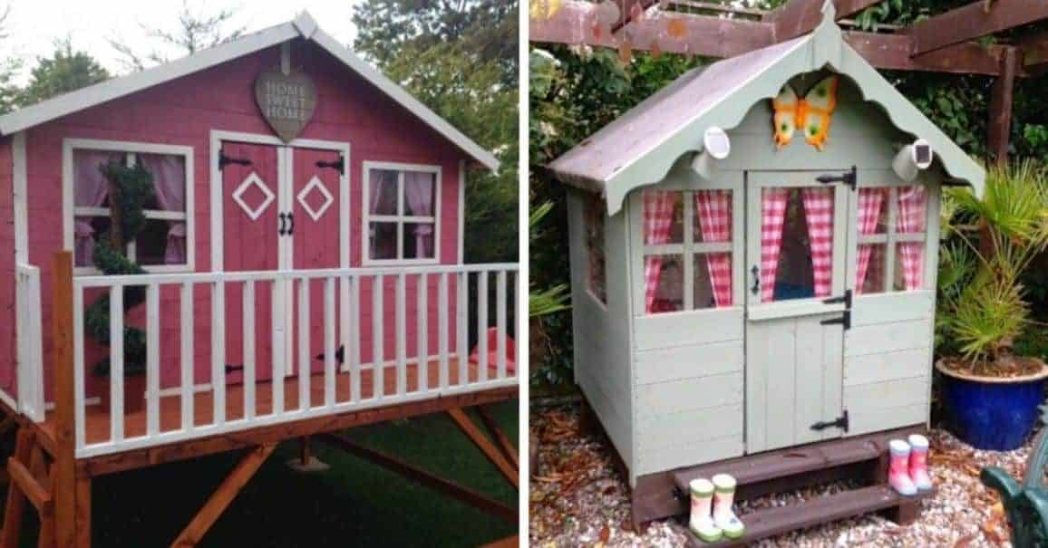 6 Tips and Ideas for Decorating Your Playhouse