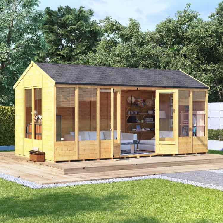 BillyOh Petra Tongue and Groove Reverse Apex Summerhouse