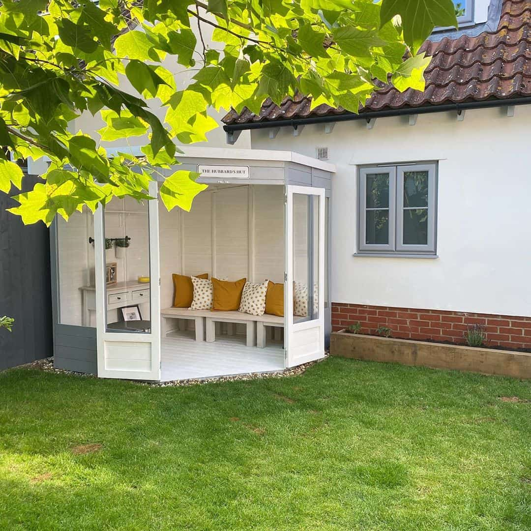 @our_countryside_journey BillyOh Picton Corner Summerhouse exterior