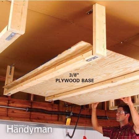 overhead rack