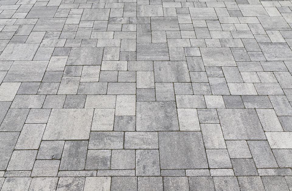 Garden patio foundation