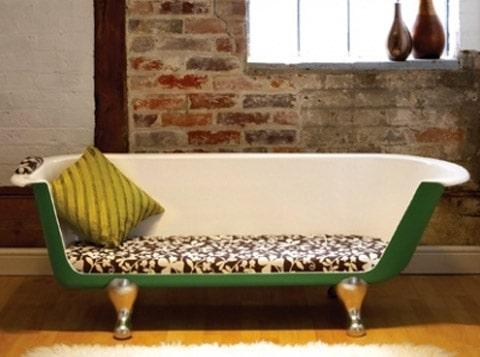 bath tub sofa