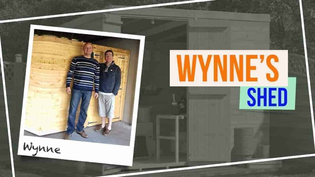 Wynne's BillyOh Master Tongue and Groove Pent Shed
