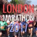 When is the London Marathon 2017?