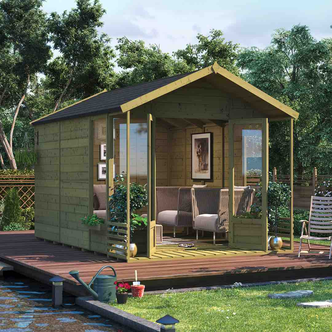 summerhouses - the ultimate guide - small summerhouse