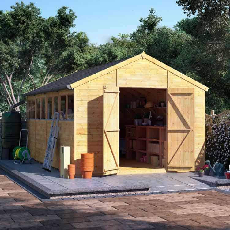 three-types-garden-sheds