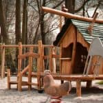 How to Transform a Boring Playhouse Into A Kid's Wonderland