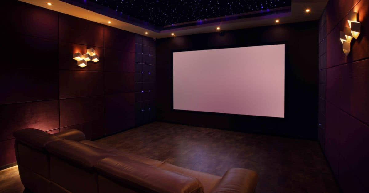 How to Turn Your Log Cabin Into a Home Cinema
