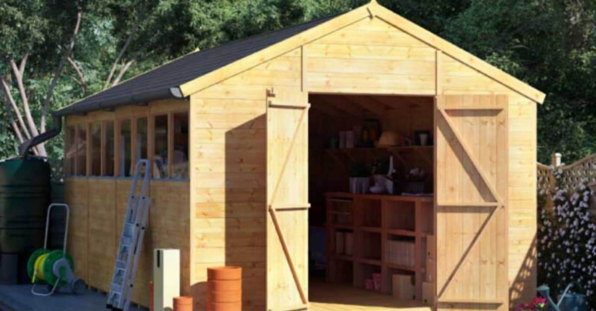 Benefits of Installing a Wooden Garden Shed